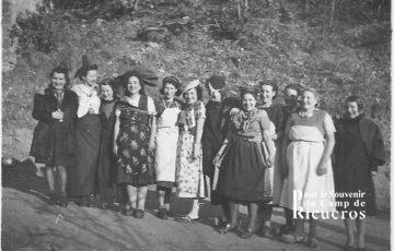 Nouvel an au camp de Rieucros en 1942