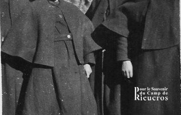 Tenu d'hiver au camp de Rieucros en 1941