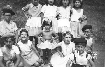 Enfants au camp de Rieucros