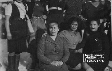 Femmes Espagnoles au camp de Rieucros