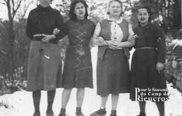 4 Femmes au camp de Rieucros