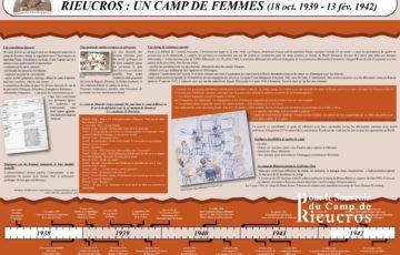 Panneau 4 du camp de Rieucros