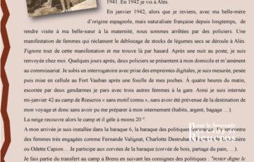 Panneau 6b du camp de Rieucros