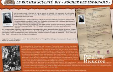 Panneau 7 du camp de Rieucros