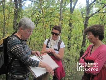 Visite camp Rieucros groupe villes Françaises